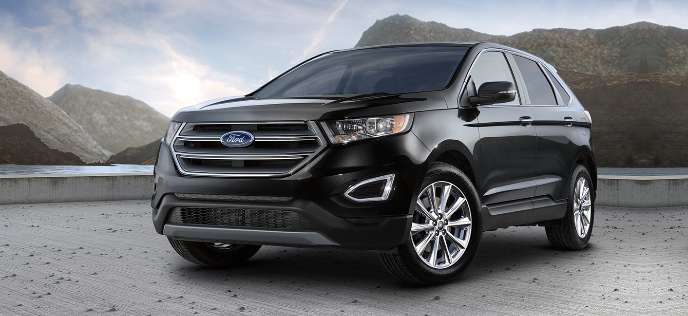 The 2018 Ford Edge SUV is available at our Ford dealership in Plainwell MI