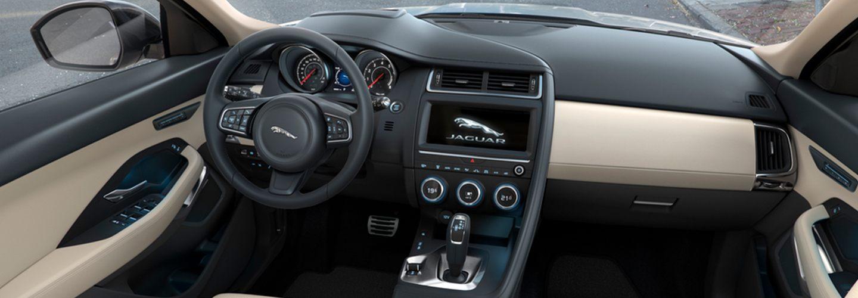 2020 Jaguar E-Pace interior