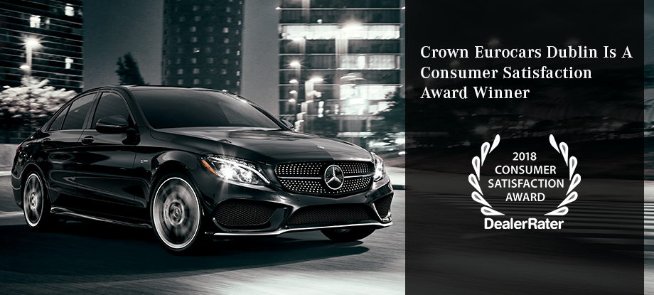 Crown Eurocars Dublin Is A Consumer Satisfaction Award Winner