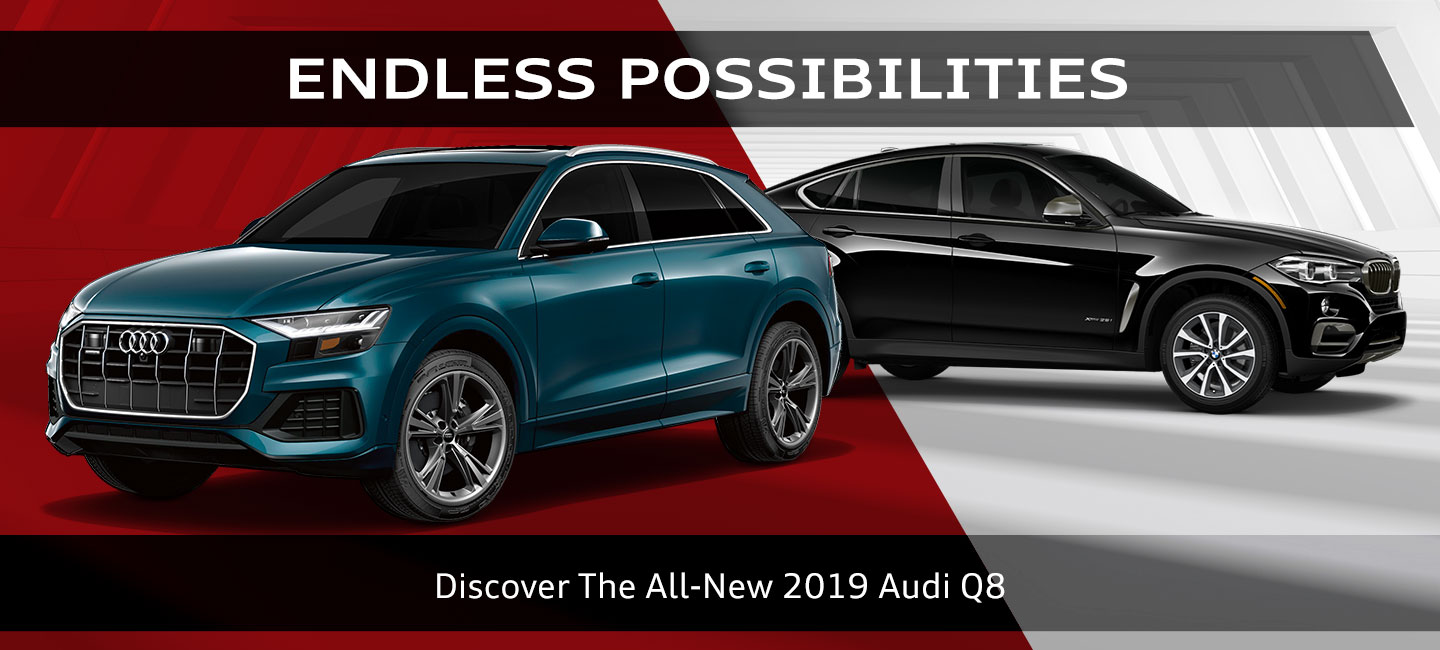 2019 Audi Q8 Vs 2019 Bmw X6 Audi Oklahoma City