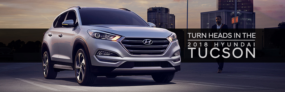 The 2018 Hyundai Tucson is available at Crown Hyundai in St. Petersburg, FL
