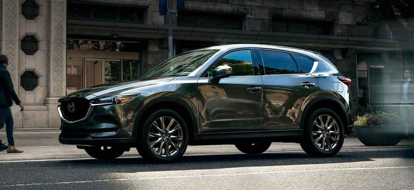 The 2019 Mazda CX-5 is available at our Mazda dealership in Naples, FL.