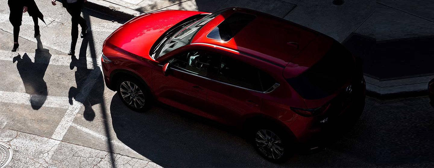 2019 Mazda CX-5 top view parked.