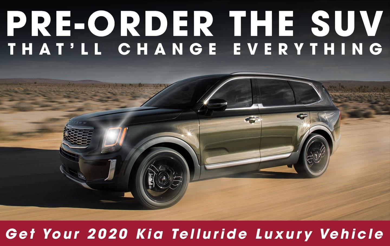 Order The 2020 Kia Telluride Crown Kia