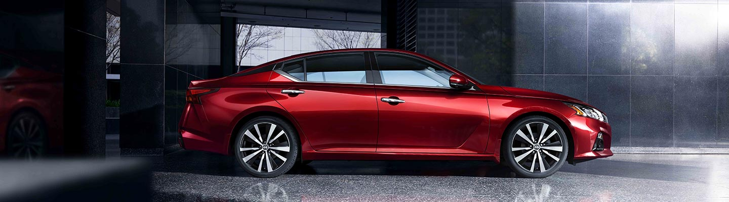 New Nissan Altima for sale at Tri-state Nissan dealership in Winchester Virginia