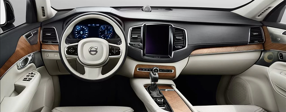 Safety features and interior of the 2019 Volvo XC90 for sale at our Volvo dealership near Frederick, Rockville and Hagerstown, MD.