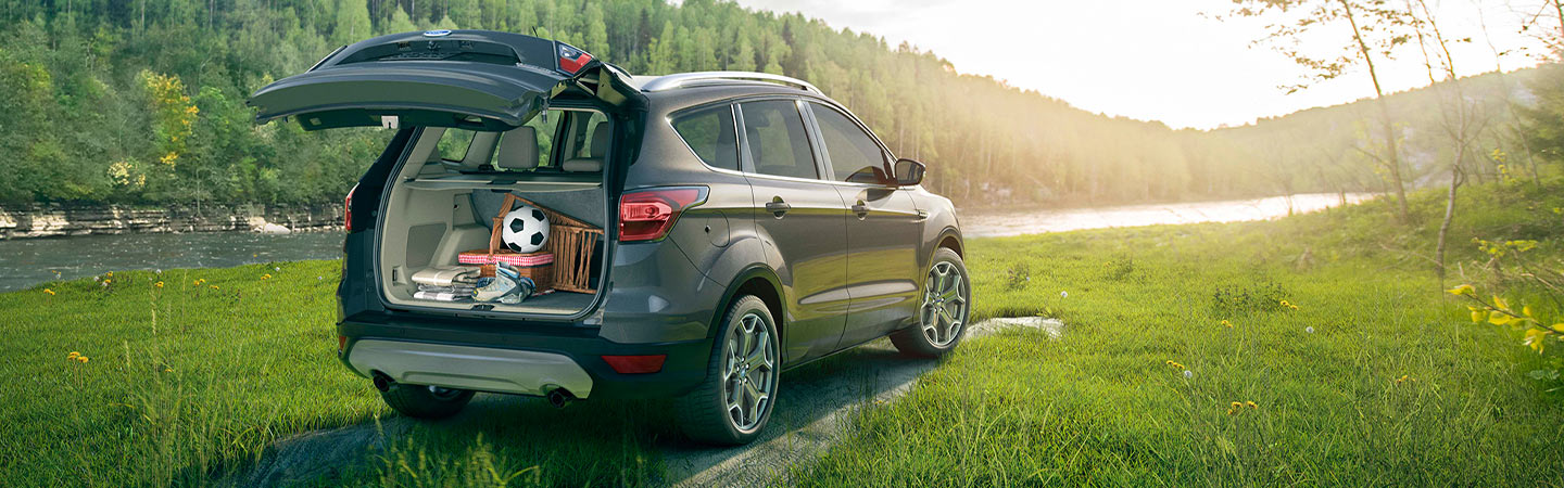 Exterior of the 2019 Ford Escape at our Kalamazoo car dealership