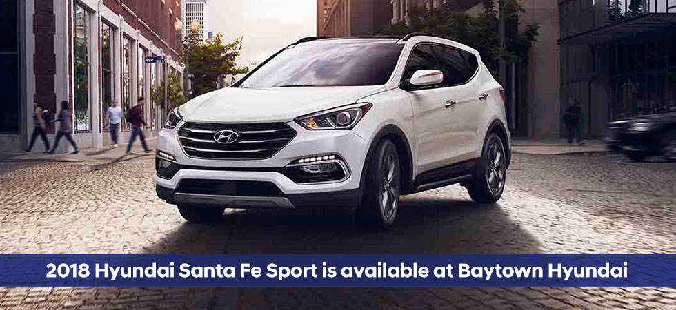 2018 Hyundai Santa Fe Sport SUV For Sale | Baytown Hyundai