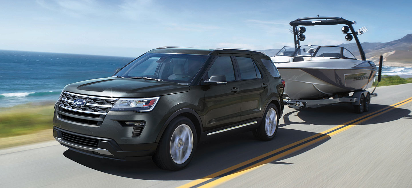 The 2019 Ford Explorer is available at our Ford dealership in Plainwell, MI.