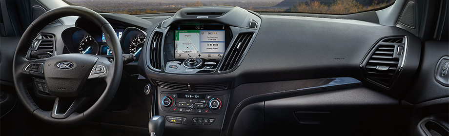 Safety features and interior of the 2018 Ford Escape - available at Coccia Ford Lincoln in Wilkes-Barre, PA
