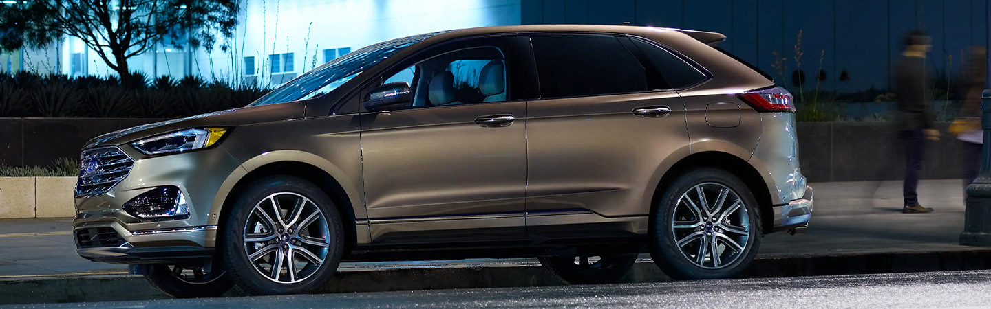 Exterior of the 2019 Ford Edge available at Zeigler Ford of Plainwell