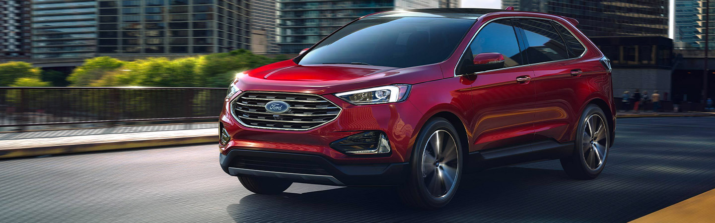 Exterior of the 2019 Ford Edge available at our Ford Dealer near Kalamazoo, MI