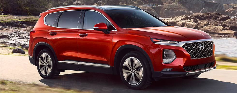 2019 Santa Fe - alternate external view