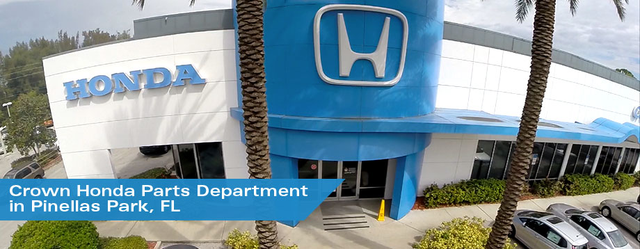 The Crown Honda Parts Department Near St. Petersburg, FL
