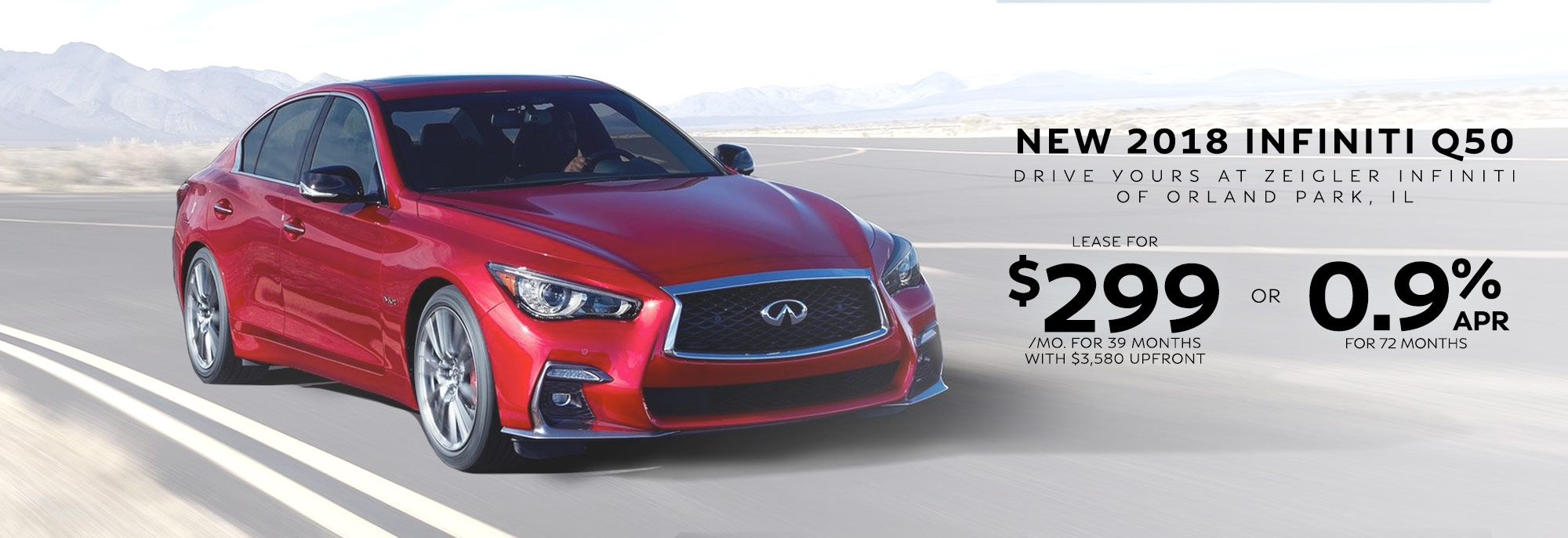 2018 Infiniti Q50 Lease And Finance Offers Orland Park Il Remote Starter New Offer