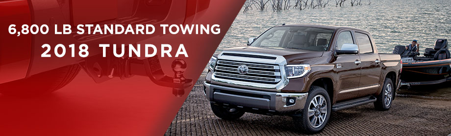 Exterior of the 2018 Toyota Tundra at World Toyota near Sandy Springs, GA
