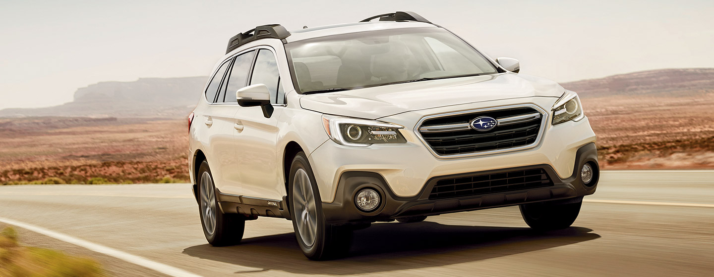 Exterior of the Subaru Outback in Oklahoma City, OK