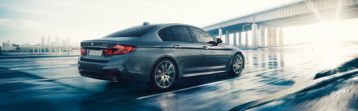 2020 BMW 5 Series in motion