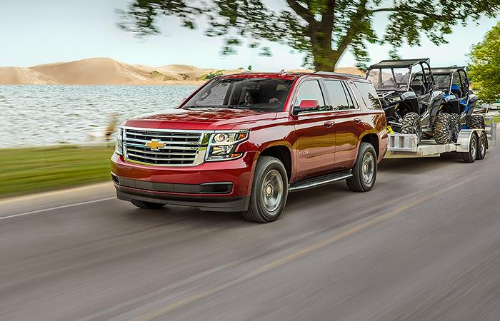 Picture of the 2020 Chevy Tahoe
