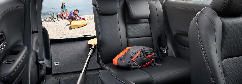Inside trunk view of the 2021 Honda HR-V