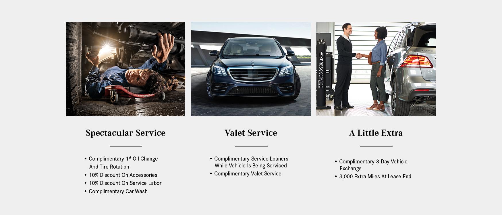 List of Mercedes-Benz services