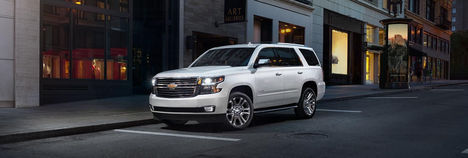 Picture of the 2020 Chevy Tahoe for sale at Spitzer Chevy Lordstown.