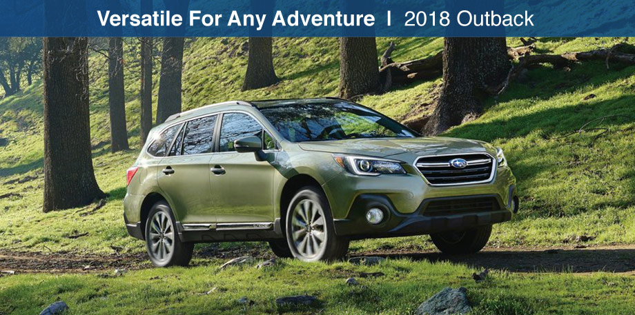 The 2018 Subaru Outback is available at Bob Moore Subaru in Oklahoma City, OK