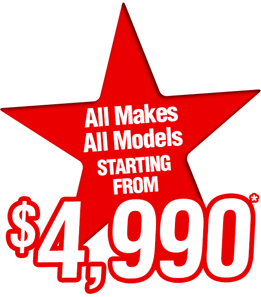 All Makes All Models Starting From $4,990