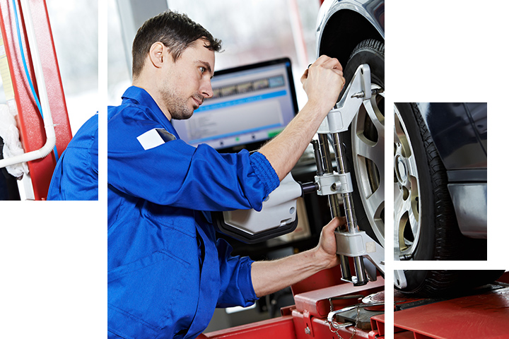 Wheel Alignment at Wesley Chapel Nissan in Wesley Chapel FL.