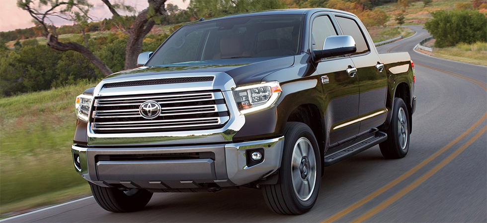 The 2019 Toyota Tundra is available at our Toyota dealership in Fort Lauderdale Florida