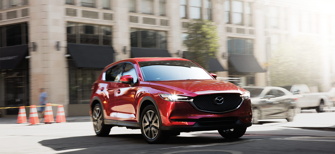 The 2018 Mazda CX-5 is available at our Mazda dealership in Laurel, MD.