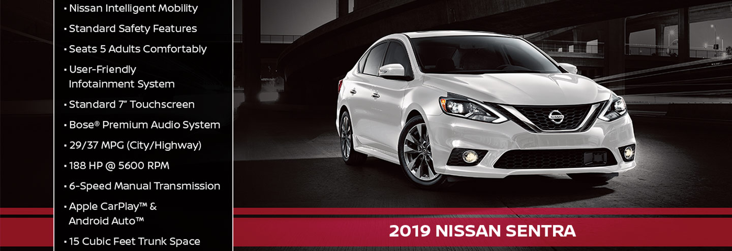 New 2019 Nissan Sentra Offer