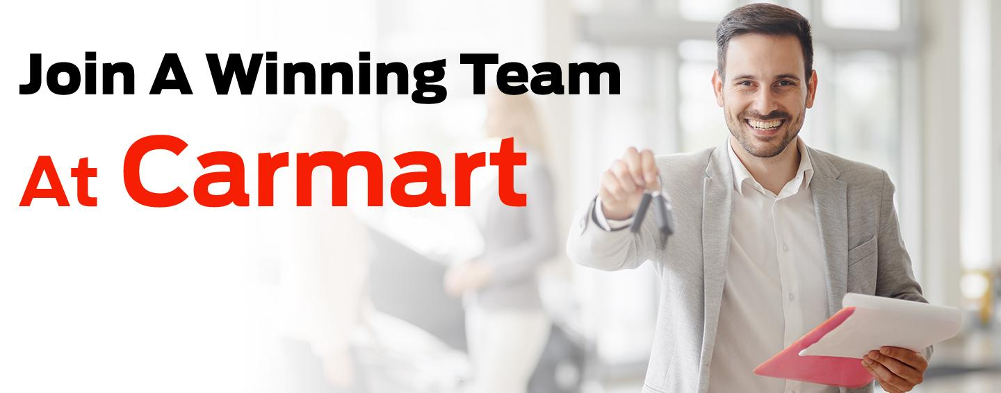 Join a winning team at Carmart