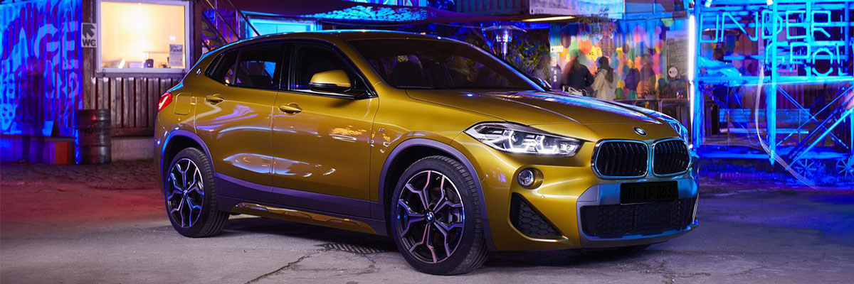 The 2018 BMW X2 is available at BMW of Columbia in Columbia, SC