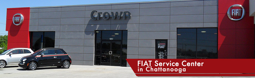 Fiat Service Center in Chattanooga serving Ringgold, GA, Sparta, TN and Athens, TN