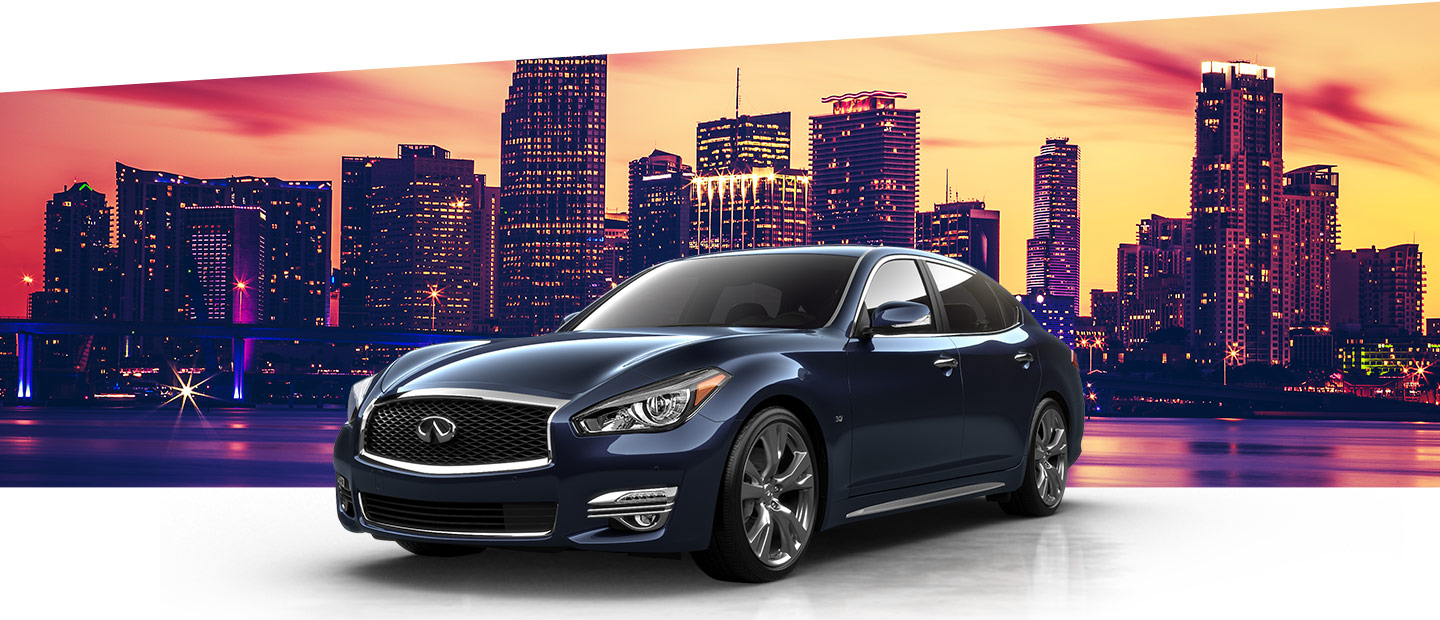 New INFINITI Cars and SUV's are available at South Motors INFINITI near Homestead, FL