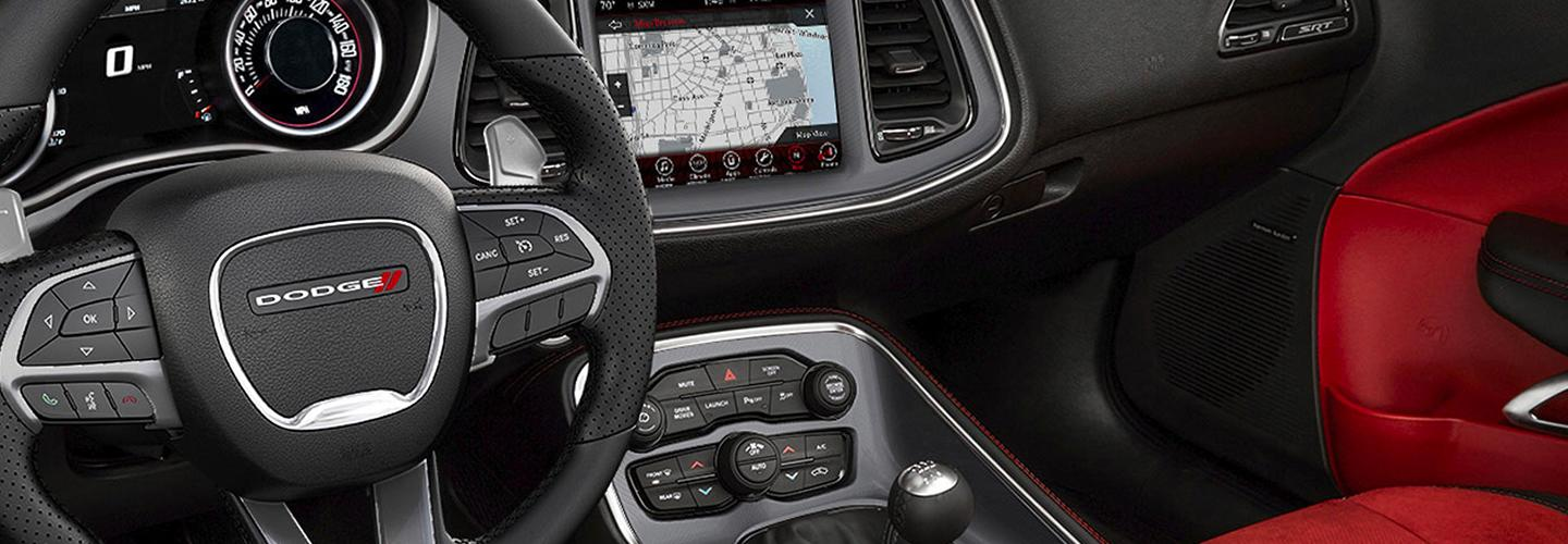 Interior features in the 2020 Dodge Challenger