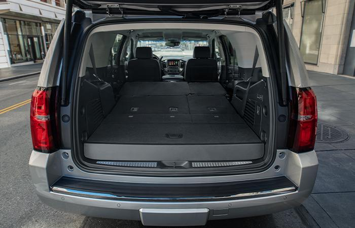 Interior image of the 2020 Chevy Tahoe