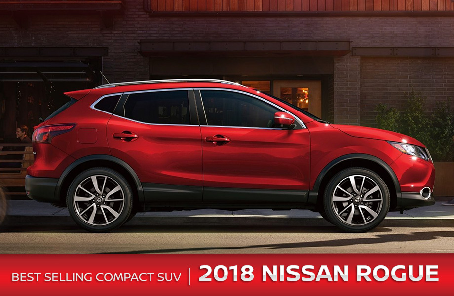 The 2018 Nissan Rogue is available at Rountree Moore Nissan near Jacksonville