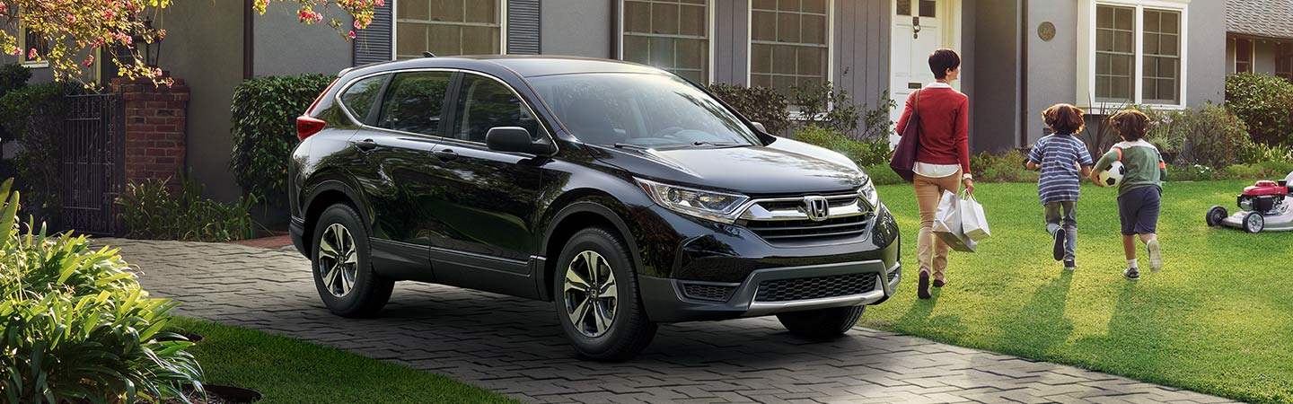 2019 Honda CR-V parked