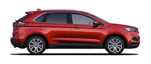 2019 Ford Edge - Red