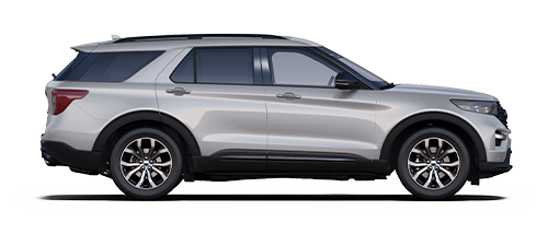 2019 Ford Explorer - Silver