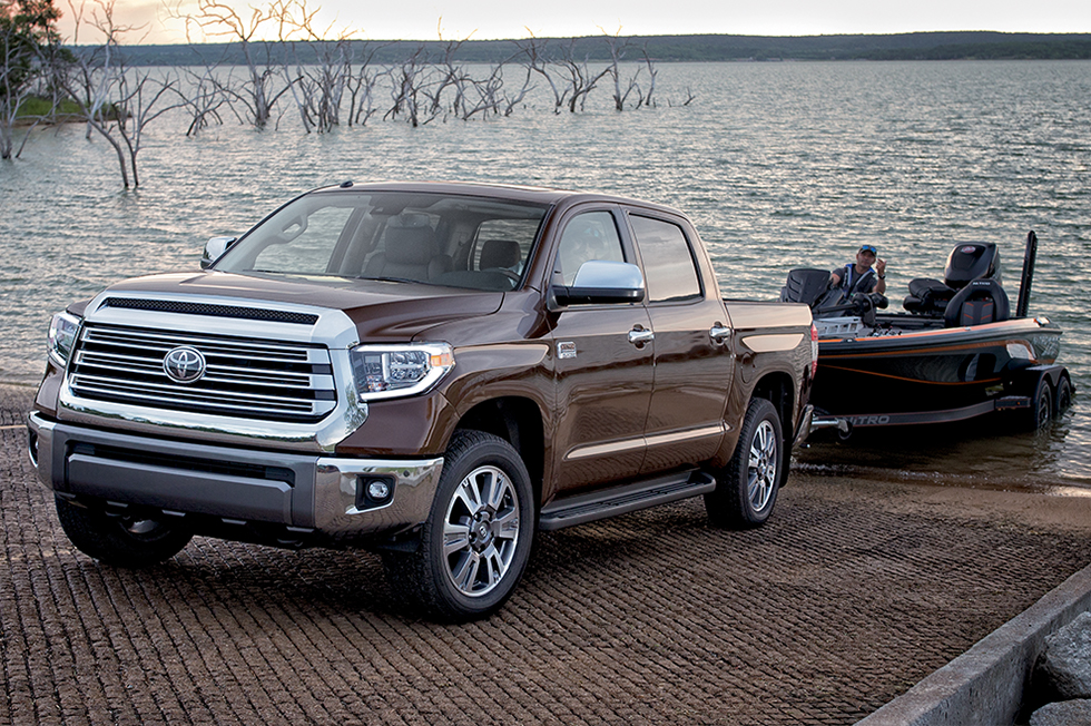 The Toyota Tundra is available at our Toyota dealership in Fort Lauderdale.