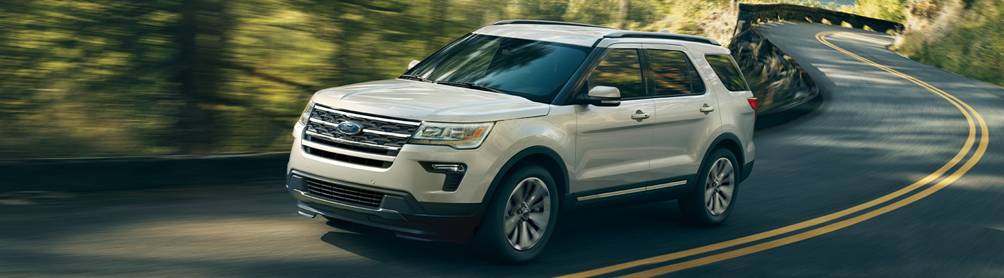 Safety features in the 2019 Ford Explorer