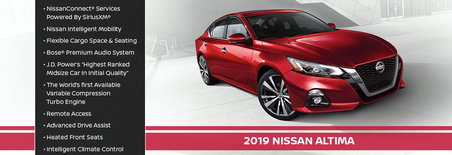 New 2019 Nissan Altima Offer