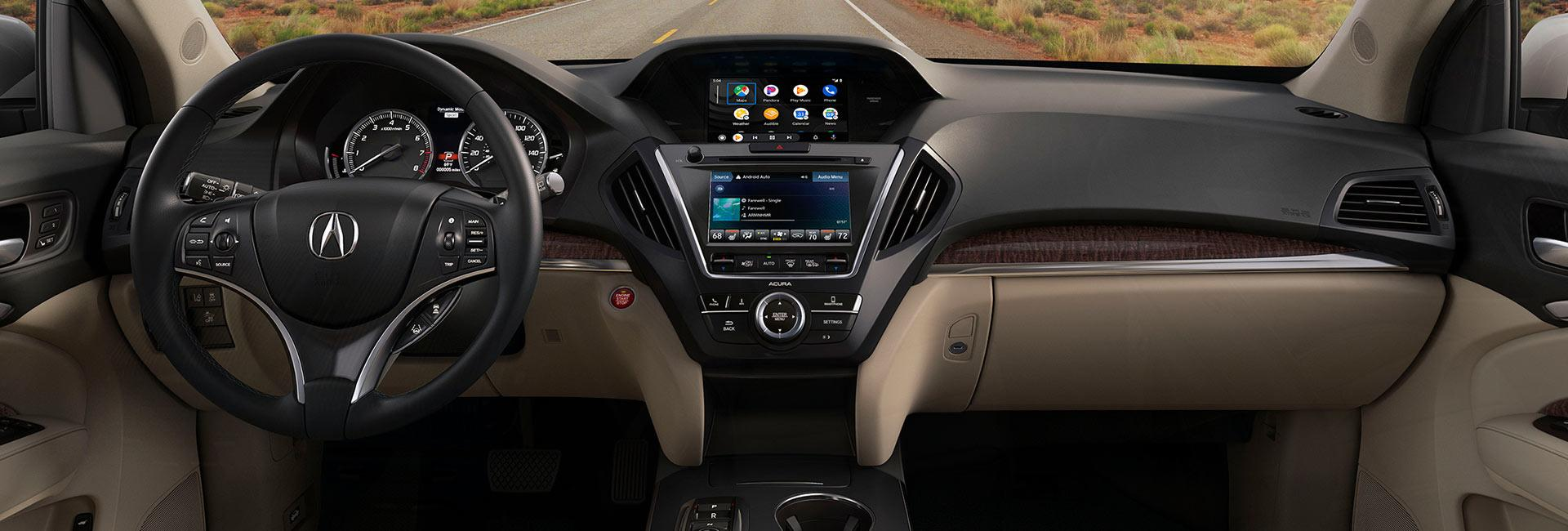 Interior image of the 2020 Acura MDX