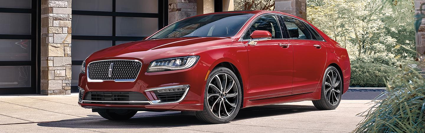 Side view of a 2020 Lincoln MKZ