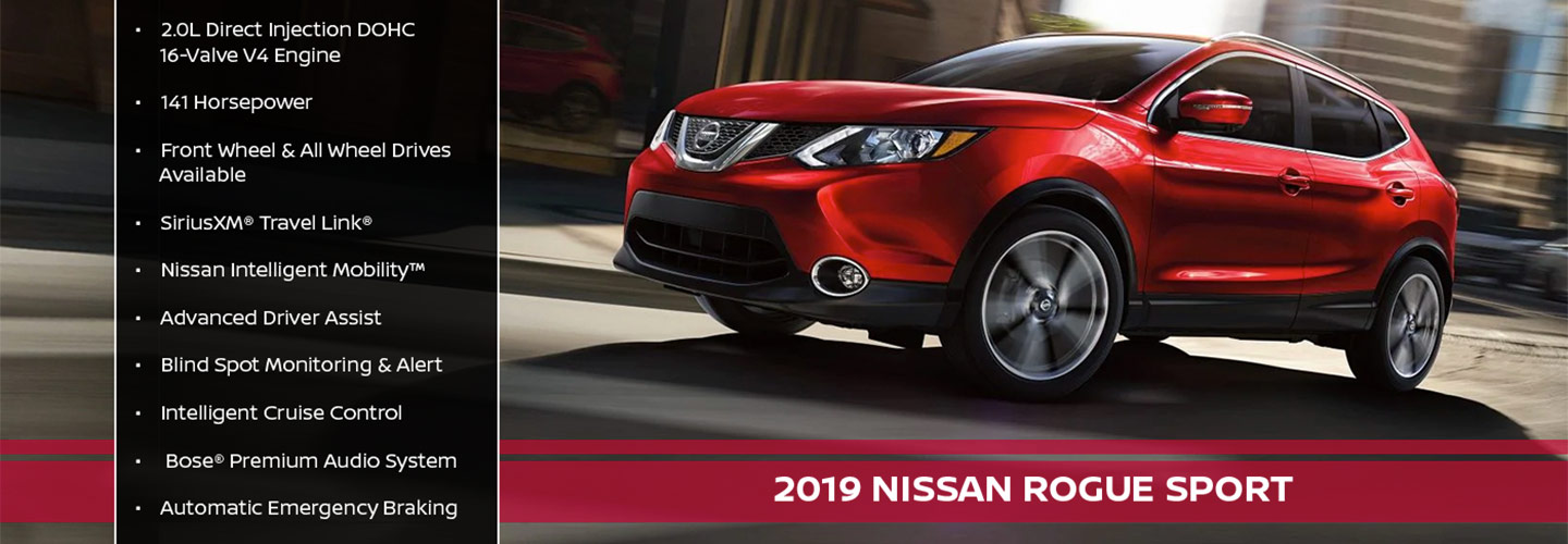 New 2019 Nissan Rogue Sport Offer