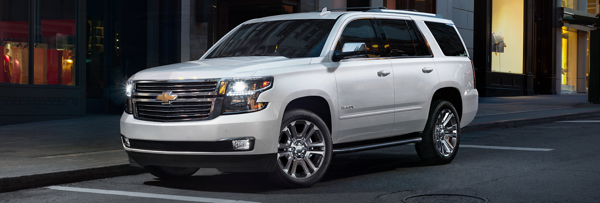 Picture of the 2020 Chevy Tahoe for sale at Spitzer Chevy of Amherst.