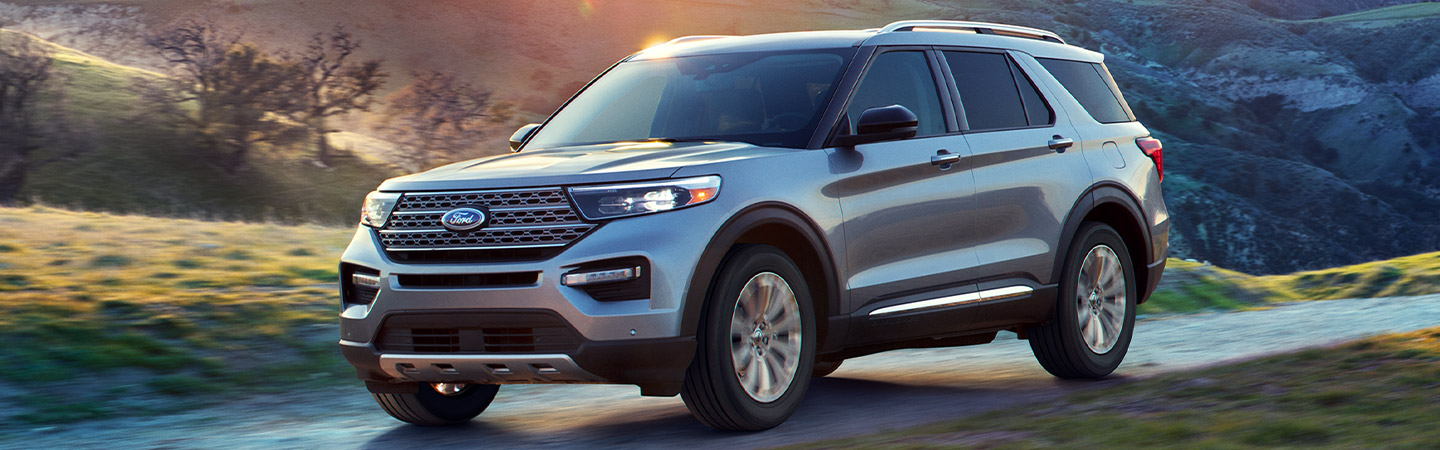 Exterior image of the 2020 Ford Explorer available at our Ford dealer